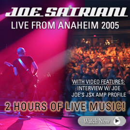 Joe Satriani Live From Anaheim Webcast!