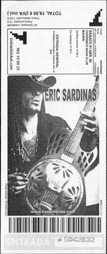 Eric Sardinas, 1 de Abril de 2006