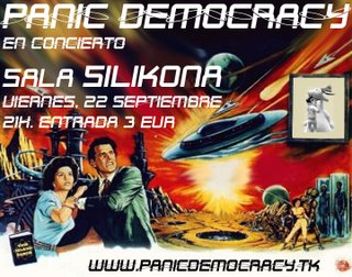 Panic Democracy en Silikona