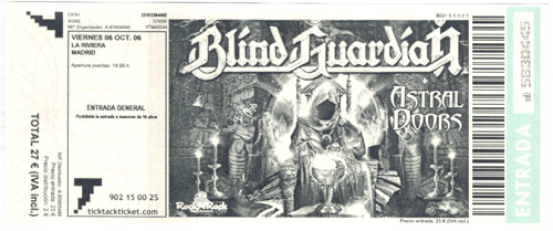 Blind Guardian (06/10/2006)