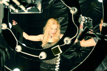 Angela Gossow - ?I Will Live Again? shooting