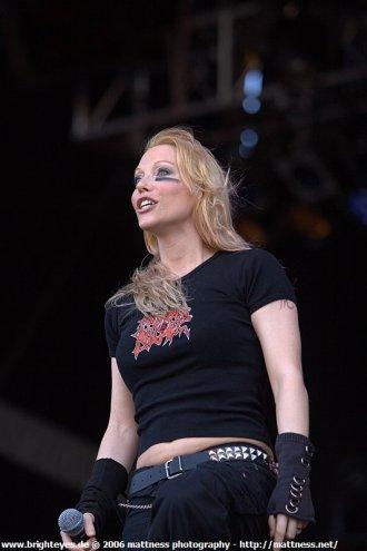 Angela Gossow (WOA 2006)