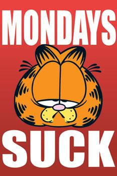 Garfield ?Mondays Suck?