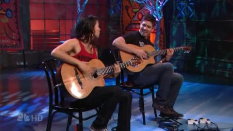 Rodrigo y Gabriela @ Jay Leno 2007-09-04