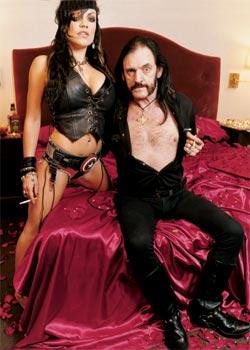 Lemmy & Moa (Maxim Magazine)