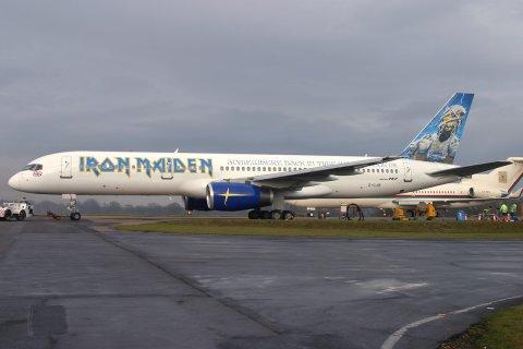 Iron Maiden Astraeus Boeing 757-23A G-OJIB (msn 24292)
