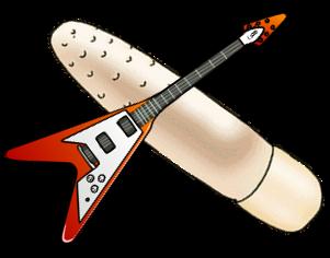 Guitar Dildo