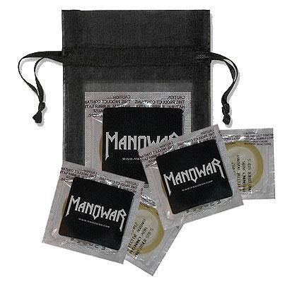 Manowar Condom ?Warrior?s Shield? Natural