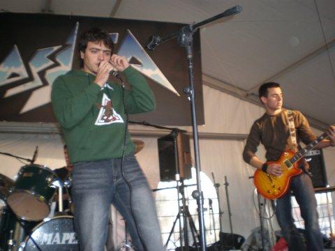 Santi y Fer (Ráscamela y Gana, San Teleko, 30 Noviembre 2007)