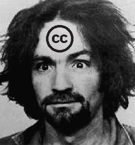 Charles Manson Creative Commons