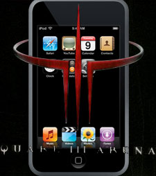 iPod touch Quake III Arena