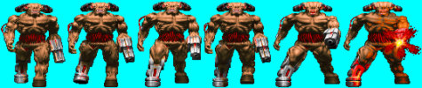 Doom CyberDemon (Front)
