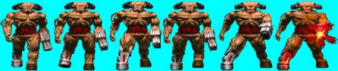 Doom CyberDemon (Front)