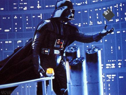 Darth Vader & Floppy disk