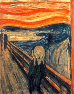 Edvard Munch - Skrik (1893)