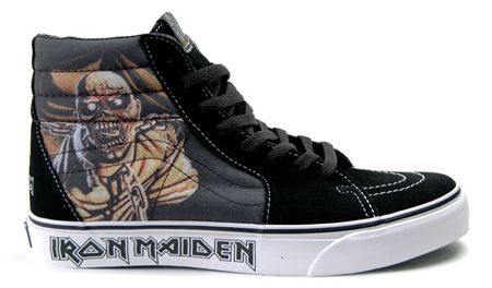Iron Maiden's Piece of Mind Vans