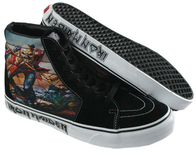 Iron Maiden's Trooper Vans