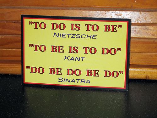 Nietzsche, Kant y Sinatra