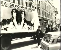 Alice Cooper Show, Londres 1972