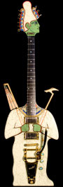 Johnson Guitars U.S.A. Egyptian Guitars Osiris