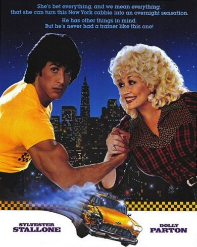 Sylvester Stallone y Dolly Parton