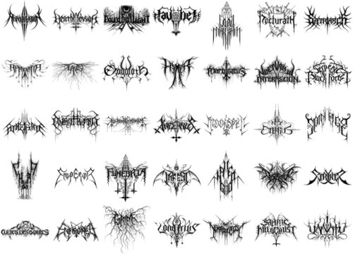 Logos de Christophe Szpajdel