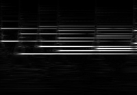 Electric Piano Pattern with Glowing Edges Filter