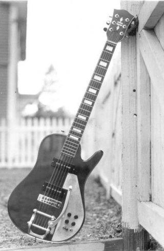 John Mitten Plexiglass Guitar