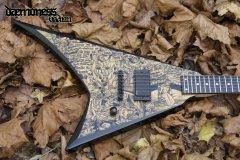 Daemoness Guitars Hadian Antichrist (front)