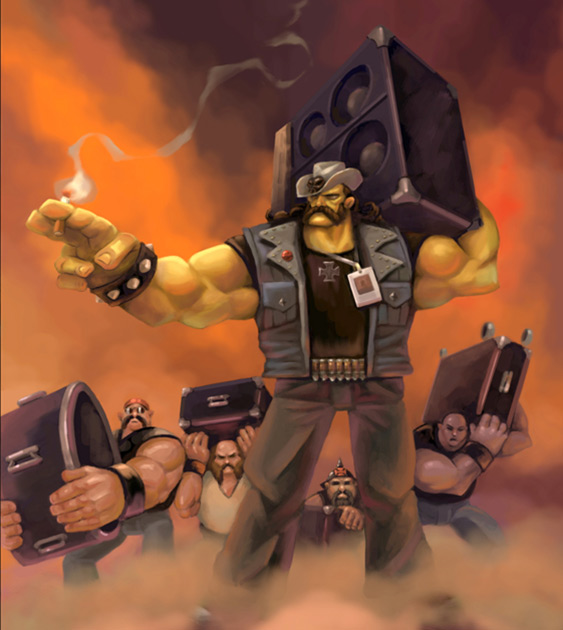 Brütal Legend: Lemmy