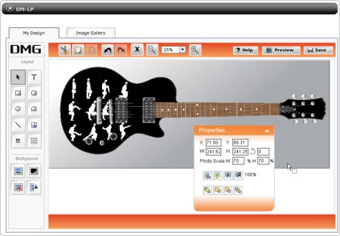 Design My Guitar