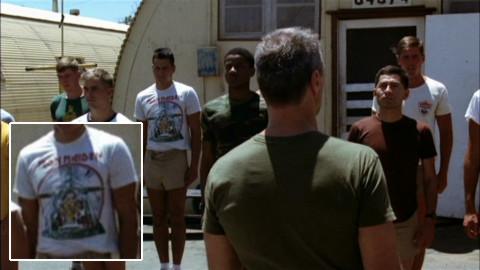 Heartbreak Ridge - Iron Maiden's Aces High T-Shirt Detail