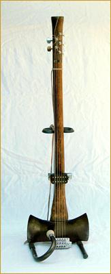 Lumber Jack's Axe Guitar