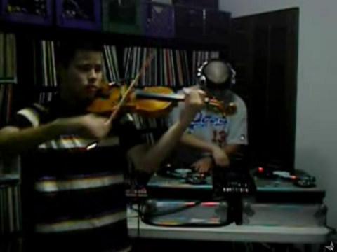 Violinist + DJ