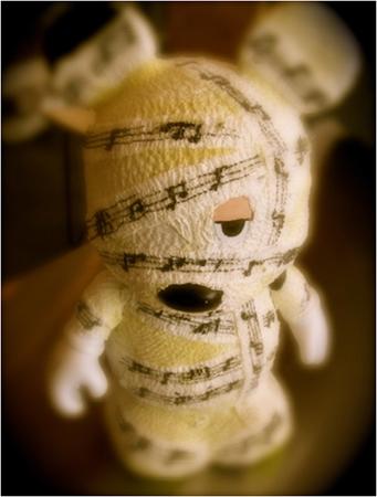 Charlie Benante Vinylmation (Mummy)