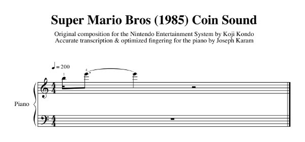 Super Mario Bros. Coin Sound