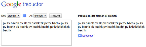 Beatboxing con el traductor de Google