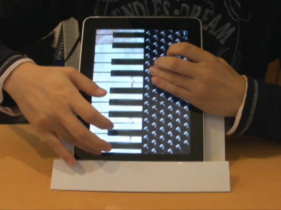 iPad Accordion
