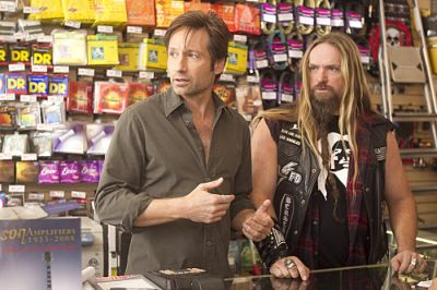 David Duchovny and Zakk Wylde in Californication