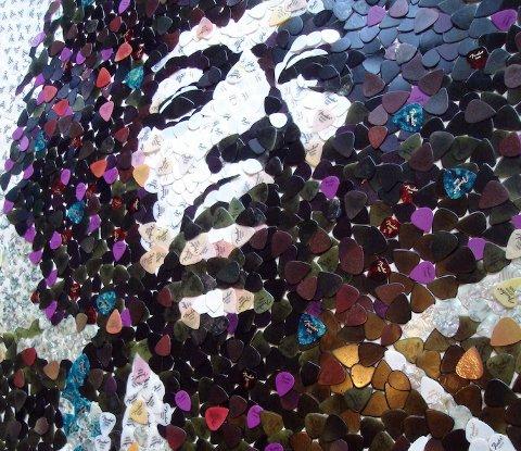 Jimi Hendrix by Ed Chapman