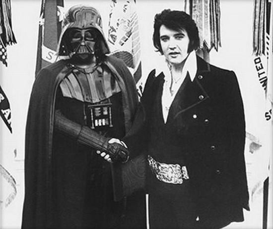 Darth Vader & Elvis Presley