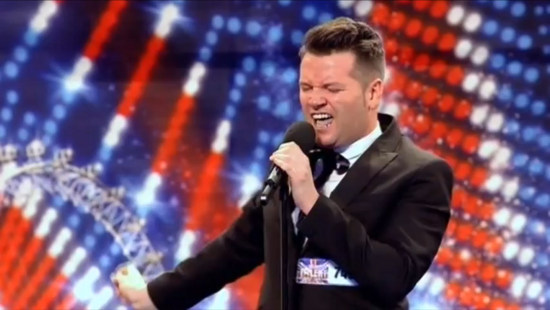 Edward Reid - Britain's Got Talent 2011 Audition