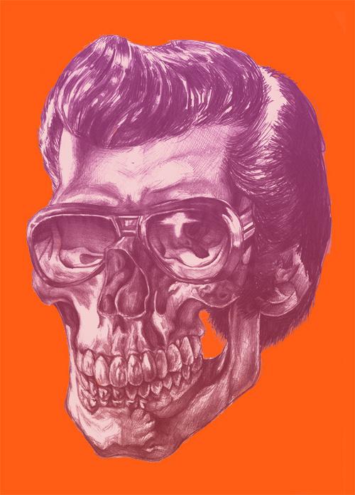 Elvis Skull