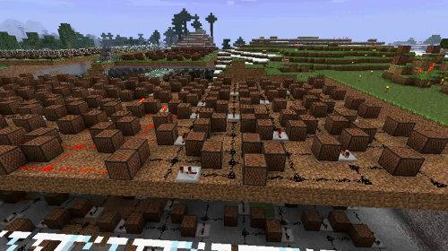 Minecraft - Requiem For A Dream Theme