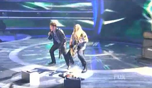 Zakk Wylde in American Idol