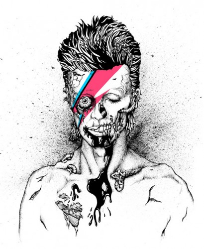 Zumbi Bowie by Loudnoise & the Beastmachine