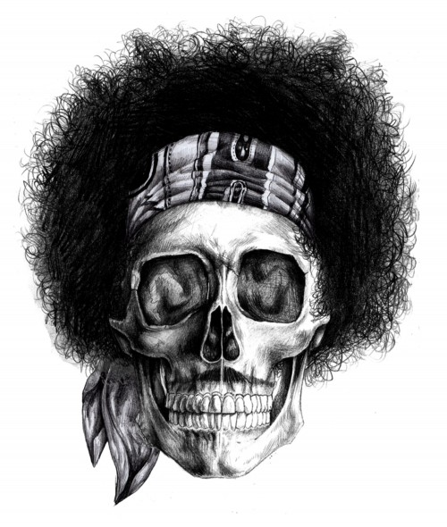 Jimi Hendrix, por Iain Macarthur
