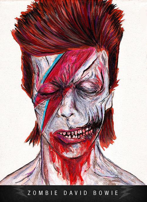 Zombie David Bowie