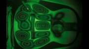 Holographic intergerometry applied to a guitar