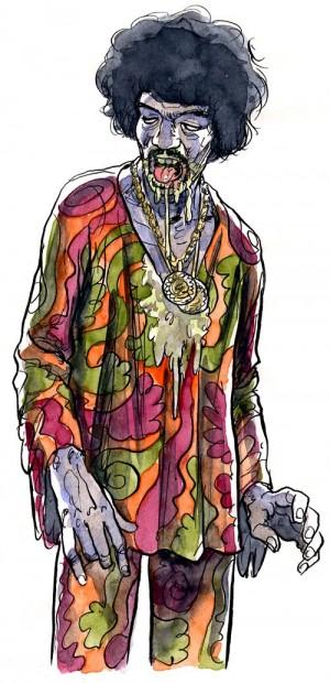 Zombie Hendrix